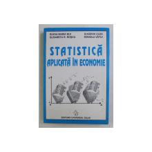 STATISTICA APLICATA IN ECONOMIE de ELENA - MARIA BIJI ...MIHAELA VATUI , 2000