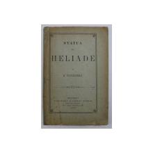 STATUA LUI HELIADE de N . RUCAREANU , 1882