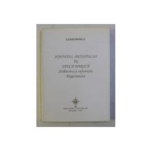STATUTUL ARTISTULUI IN EPOCA BAROCA de ILEANA MIHAILA , 1998 , DEDICATIE*