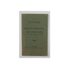 STATUTUL SI REGULAMENTUL CERCULUI STUDENTESC ' IALOMITA ' , 1927