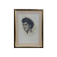 STAVRU TARASOV ( 1883 - 1961 ) - PORTRET DE FEMEIE