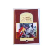 STEFAN , STEFAN DOMN CEL MARE de CONSTANTIN BOSTAN , ilustratii de VASILE OLAC , 2017