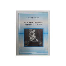 STENOZELE CANALULUI VERTEBRAL LOMBAR de DANIEL BALASA , 2006, DEDICATIE * , PREZINTA HALOURI DE APA *