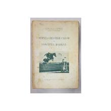 STIINTA CRESTERII CAILOR IN CNCEPTIA MODERNA de P. STAVRESCU - BUCURESTI, 1930