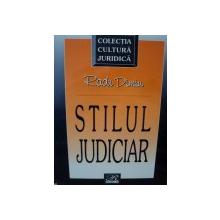 STILUL JUDICIAR-RADU DIMIU