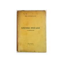 STINSE PETALE , VERSURI , 1940 , DEDICATIE*