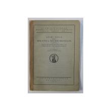 STIRI NOUA DESPRE BIBLIOTECA MAVROCORDATILOR SI DESPRE VIEATA MUNTENEASCA  IN TIMPUL LUI CONSTANTIN MAVROCORDAT de N . IORGA , 1926