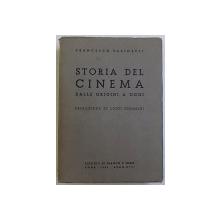 STORIA DEL CINEMA DALLA ORIGINI A OGGI di FRANCESCO PASINETTI , 1939