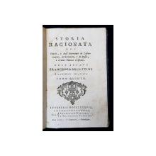 STORIA RAGIONATA DEI TURCHI , E DEGLI IMPERATORI DI CONSTANTINOPOLI ...DELL ; ABBATE FRANCESCO BECATTINI , TOMO QUINTO , 1788