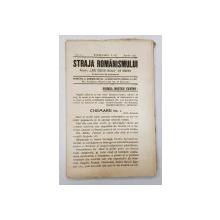 Straja Romanismului - 1922