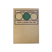 STRUCTURA SI PROPRIETATILE FIBRELOR TEXTILE de I. IONESCU  - MUSCEL si SEMERAD RADULESCU , 1970