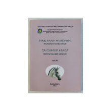 STUD BOOK ROMANESC , CAI SHAGYA ARABA VOL. IV , 2011