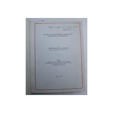 STUDIES IN THE MANUSCRIPT TRADITION OF STEPHANITES KAI ICHNELATES by JOHN  - THEOPHANES PAPADEMETRIOU , 1954 , DEDICATIE*