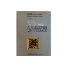 STUDII DE ISTORIE A FILOZOFIEI UNIVERSALE VOL. V de LUCIAN STANCIU... IOAN IVANCIU, 1977