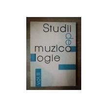 STUDII DE MUZICOLOGIE VOL. II  , 1966