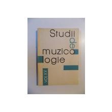 STUDII DE MUZICOLOGIE , VOL. XV de VASILE HERMAN , 1980