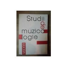 STUDII DE MUZICOLOGIE VOL. XVII , bUCURESTI 1983