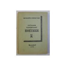STUDII DE POETICA UCRAINEAN - CURS SPECIAL de MAGDALENA LASZLE KUTIUK , 1974