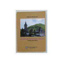 STUDII  DE TOPONIMIE URBANA  - VIZIUNE DIACRONICA de ADRIAN REZEANU , 2009