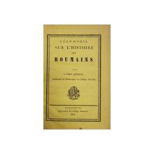 STUDII ISTORICE - COLEGAT DE 4 CARTI CU AUTORI DIFERITI , CARTEA I-A APARTINUT LUI IONEL I.C. BRATIANU ( MONOGRAMA PE COTORUL CARTII )  , CONTINE MAI MULTE DEDICATII CATRE ACESTA , 1846 -1897