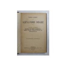 STUDII JURIDICE de ALEXANDRU DEGRE  VOL. III ,materii de drept comercial,drept public,constitutional si administrativ ,BUC. 1901