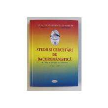 STUDII SI CERCETARI DE DACOROMANISTICA - REVISTA ANUALA A ACADEMIEI ROMANE ANUL 1 NR. 1 , 2011