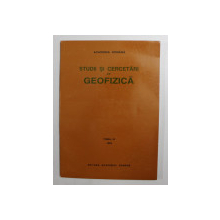 STUDII SI CERCETARI DE GEOFIZICA  - TOMUL 33 , 1995