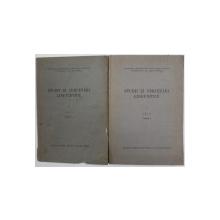 STUDII SI CERCETARI LINGVISTICE , VOL . I - FASCICULELE I - II , 1950