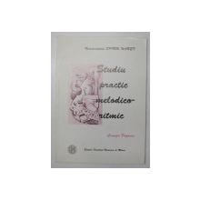 STUDIU PRACTIC MELODICO - RITMIC de CRINUTA POPESCU , 2002