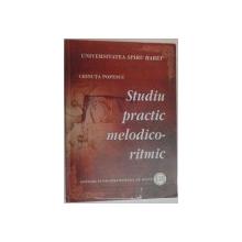 STUDIU PRACTIC MELODICO- RITMIC de CRINUTA POPESCU , 2011