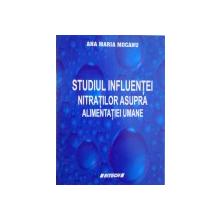 STUDIUL INFLUENTEI NITRATILOR ASUPRA ALIMENTATIEI UMANE de ANA MARIA MOCANU, 2006