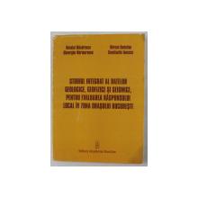 STUDIUL INTEGRAT AL DATELOR GEOLOGICE , GEOFIZICE SI SEISMICE , PENTRU EVALUAREA RASPUNSULUI LOCAL IN ZONA ORASULUI BUCURESTI de NECULAI MANDRESCU ...CONSTANTIN IONESCU , 2008
