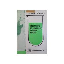 SUBSTANTE DE CONTRAST ORGANO - IODATE de V. GRANCEA si A. PERCEK , 1990