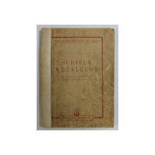 SUDAREA METALELOR - MANUAL PENTRU SCOLI PROFESIONALE , 1950