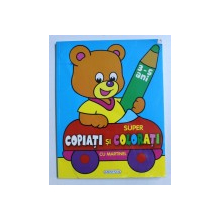 SUPER COPIATI SI COLORATI CU MARTINEL 3-5 ANI