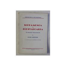 SUPRAMUNCA SI PLUSVALOAREA PE INTELESUL MUNCITORILOR de KARL RENNER , 1944