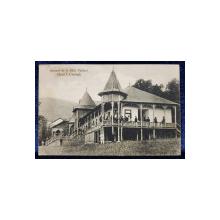 Suvenir de la Baile Oglinzi. Hotel J. Creanga - CP Ilustrata