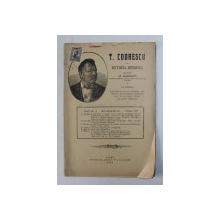 T. CODRESCU  - REVISTA ISTORICA scrisa de GH. GHIBANESCU , ANUL 1 , NR. 2 , 1 NOIEMBRIE , 1915