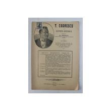 T. CODRESCU  - REVISTA ISTORICA scrisa de GH. GHIBANESCU , ANUL 1 , NR. 4  , 1 IANUARIE , 1916