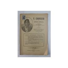 T. CODRESCU  - REVISTA ISTORICA scrisa de GH. GHIBANESCU , ANUL 1 , NR. 5  , 1 FEBRUARIE  1916