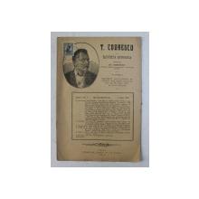 T. CODRESCU  - REVISTA ISTORICA scrisa de GH. GHIBANESCU , ANUL 1 , NR. 9  , 1 iIUNIE  1916