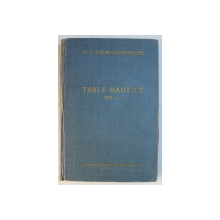 TABLE NAUTICE MT - 53  , 1955