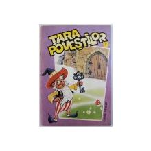 TARA POVESTILOR , coperta si ilustratiile de FLORIN ILIE , 1993
