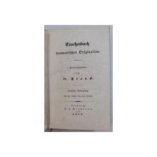 TASCHENBUCH DRAMATISCHER ORIGINALIEN von FRANCK , 1838