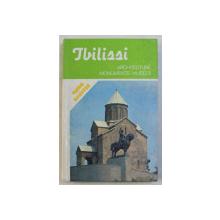 TBILISSI - ARCHITECTURE , MONUMENTS , MUSEES . GUIDE ILLUSTRE , 1985