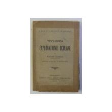 TECHNICA EXPLORATIUNEI OCULARE de VICTOR GOMOIU , 1907