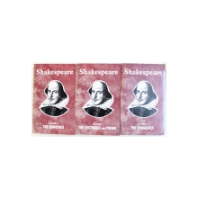 TEH COMEDIES / THE HISTORIES AND POEMS / THE TRAGEDIES , VOL. I - III by SHAKESPEARE