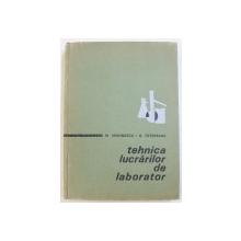 TEHNICA LUCRARILOR DE LABORATOR de M . MIRONESCU si A . TUTUOVEANU , 1967