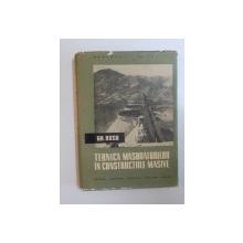 TEHNICA MASURATORILOR IN CONSTRUCTIILE MASIVE de GH. RUSU , 1958