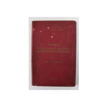 TEHNICA TRAGERILOR DE ARTILERIE , VOLUMUL I - CUNOSTINTE GENERALE de CAPITAN CARLAONT I.ION  si CAPITAN NESTORESCU VALERIAN , 1932 , LIPSA PAGINA DE TITLU *